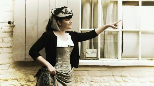 """Martha"" steampunk hat"